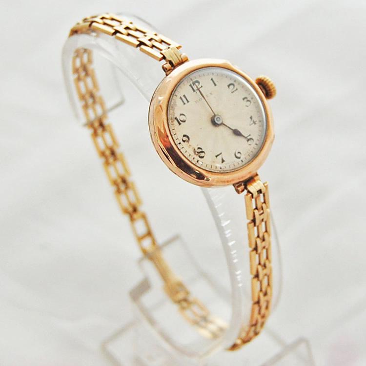 Ladies antique 9ct gold rolex 1911 krafft jewellers for Vintage gold watch