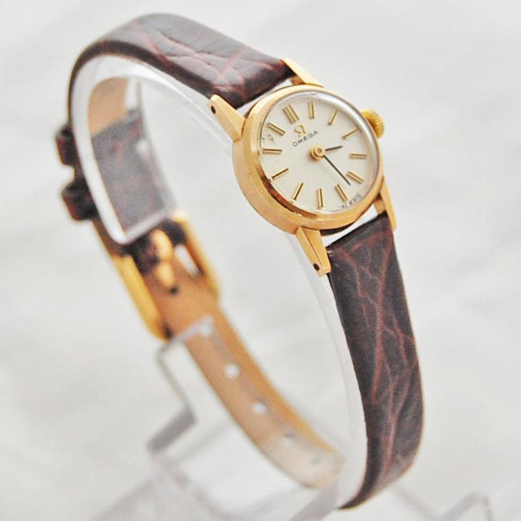 Ladies Vintage Ct Gold Omega Mechanical Krafft Jewellers