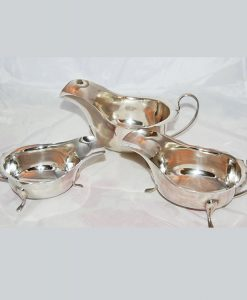 Vintage-Silver-Set-of-3-Sauce-Boats-1932-1