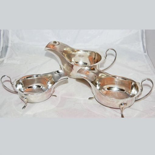Vintage-Silver-Set-of-3-Sauce-Boats-1932-1